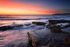 Sunrise from Maroubra Stock Image