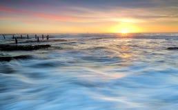 Sunrise Maroubra Stock Photography