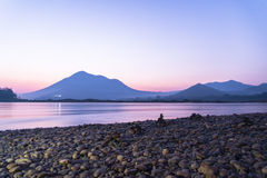 Sunrise Mekong River Stock Photography