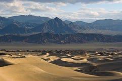 Sunrise on Mesquite Flat Sand Dunes Royalty Free Stock Images