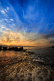 Sunrise a Messina Royalty Free Stock Image