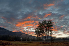 Sunrise in the Methow Valley Royalty Free Stock Photography