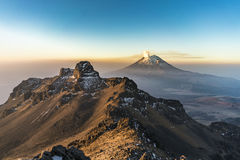 Sunrise in Mexico Mountains Royalty Free Stock Images