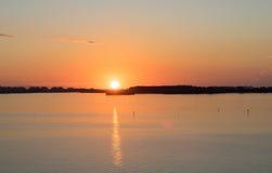 Sunrise in Miami Stock Photography
