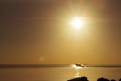 Sunrise in Miami Stock Image