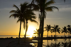 Sunrise in Miami Stock Photo