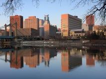 Sunrise in Minneapolis Royalty Free Stock Image