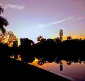 Sunrise mist royalty free stock image
