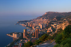Sunrise in Monaco Royalty Free Stock Images