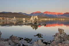 Sunrise at Mono Lake Royalty Free Stock Images