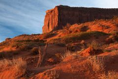 Sunrise at Monument Valley Stock Photos