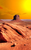 Sunrise Monument Valley Stock Image