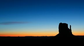 Sunrise at Monument Valley Royalty Free Stock Photo