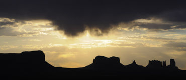 Sunrise at Monument Valley, USA Stock Photography