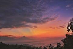 Sunrise. Morning beauty day stock photos