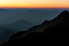 Sunrise in the morning Royalty Free Stock Images