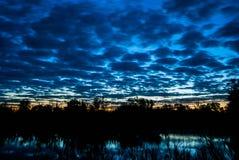 Sunrise. Morning sunrise on the lake Stock Images