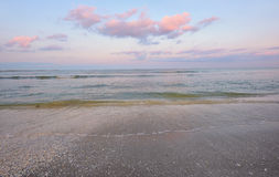 Sunrise morning and sea summer Royalty Free Stock Photography