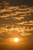 Sunrise in the morning. Sunrise on the sky in the morning Royalty Free Stock Photo