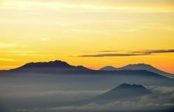 Sunrise at Mount Bromo Royalty Free Stock Photo