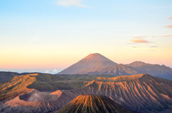 Sunrise at Mount Bromo Stock Photography