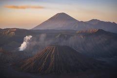 Sunrise at Mount Bromo volcano East Java, Indonesia. Sunrise at Mount Bromo volcano East Java, Indonesia Royalty Free Stock Photos