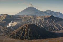 Sunrise at Mount Bromo volcano East Java, Indonesia. Sunrise at Mount Bromo volcano East Java, Indonesia Stock Photos
