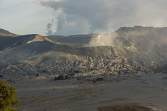 Sunrise at Mount Bromo volcano East Java, Indonesia Stock Photography