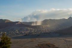 Sunrise at Mount Bromo volcano East Java, Indonesia.  Royalty Free Stock Image