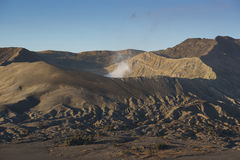 Sunrise at Mount Bromo volcano East Java, Indonesia.  Royalty Free Stock Photography