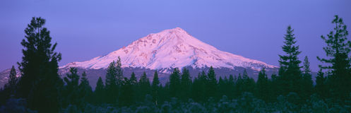Sunrise at Mount Shasta, Stock Photography