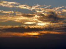 Sunrise at mount Sinai Stock Photos