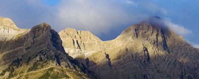 Sunrise mountain Royalty Free Stock Photography