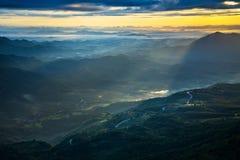 Sunrise Mountain Royalty Free Stock Photo