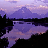 Sunrise on Mt. Moran Stock Photos