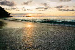 Sunrise at Mu Koh Similan, Thailand Royalty Free Stock Images