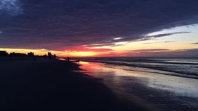 Sunrise at Myrtle Beach video stock video footage