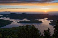 Sunrise n Greece Stock Photo