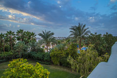 Sunrise of Naama Bay Royalty Free Stock Images