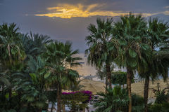 Sunrise of Naama Bay Stock Images