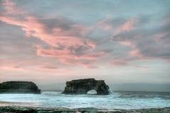 Sunrise on Natural Bridge Stock Images