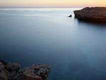 Sunrise near Bimmah. Sunrise at Omani coast near Bimmah, Muscat region Royalty Free Stock Photography