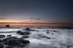 Sunrise near Stonehaven Stock Photography