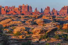 Sunrise in Needles District Royalty Free Stock Photography