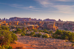 Sunrise in Needles District Stock Photos