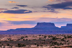Sunrise in Needles District Royalty Free Stock Image