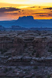 Sunrise in Needles District Stock Images