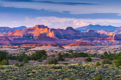 Sunrise in Needles District Royalty Free Stock Photos
