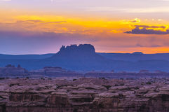 Sunrise in Needles District Royalty Free Stock Photo