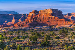Sunrise in Needles District Stock Image